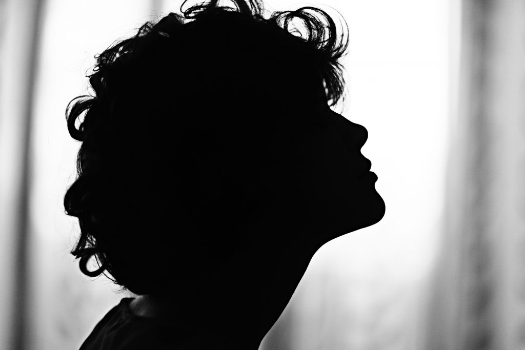 519bdb80 silhouette girl portrait. Letters to ...